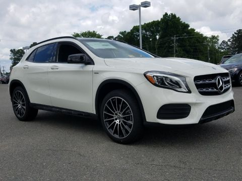 New MERCEDES-BENZ GLA250